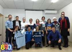 Consulado do Grêmio de Bento repassa parte de recursos de jantar para entidades do município