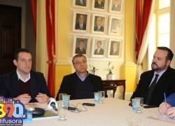 Em encontro com a imprensa, Pasin reforça a importância do projeto de Usina de Resíduos Sólidos