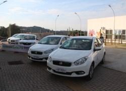 Secretaria de Saúde de Bento recebe cinco novos veículos