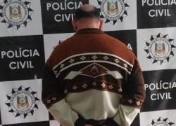 Polícia Civil de Farroupilha prende homem acusado de estupro