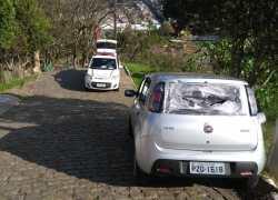 Brigada recupera veículo furtado em Bento