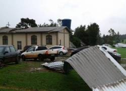 Cidades gaúchas receberão apoio federal para recuperar casas atingidas por granizo