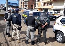PRF e BM capturam criminoso durante fiscalização conjunta em Vacaria