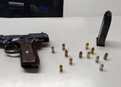 Homem é preso com arma de fogo na Planalto em Bento