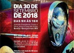 Encontro de carros antigos organizado pelo Veteran Car Club dos Vinhedos será dia 30