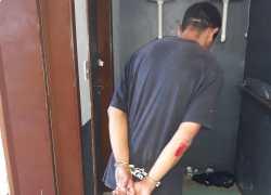 Homem é preso após roubo a pedestre no centro de Bento