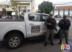 Força Gaúcha já atua em Bento Gonçalves