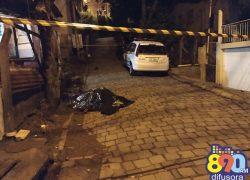 Homem é morto a tiros no Conceição em Bento