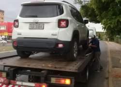Veículo roubado em Carlos Barbosa é abordado em Cachoeirinha