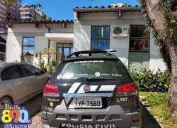 Ação da Polícia Civil apreende ecstasy e maconha em sítio no interior de Bento