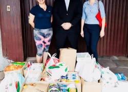 OAB Bento Gonçalves entrega donativos ao Lar de Idosos Luchese
