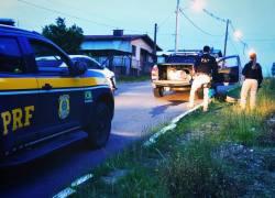 Após tentativa de fuga, PRF prende motorista em Garibaldi