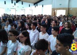 Bairro Vila Nova II celebra inauguração da igreja de Caravaggio em Bento