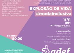 ADEF promove o 1º Desfile de Moda Inclusiva em Bento