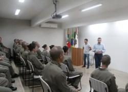 Bento recebe 30 novos alunos soldados em curso de formação