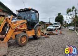 Secretário diz que Prefeitura de Bento tem cobrado agilidade nos consertos de redes da Corsan