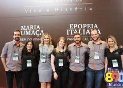 Giordani Turismo divulga pacotes e roteiros da região no Festuris 2018