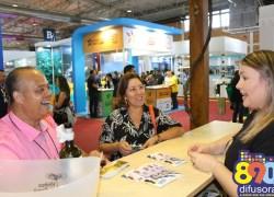 Malhas G´Dom divulga roteiro turístico no Festuris em Gramado