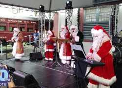 Inicia temporada do 'Natal Sobre Trilhos' da Giordani Turismo