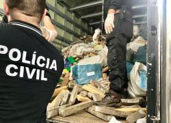 Operação de Incineração executa a destruição de aproximadamente 4,5 toneladas de drogas