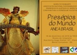 """Museu do Imigrante sedia exposição """"Presépios no Mundo ANEA Brasil"""""""
