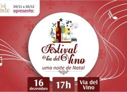 Festival Via Del Vino celebra uma noite de Natal