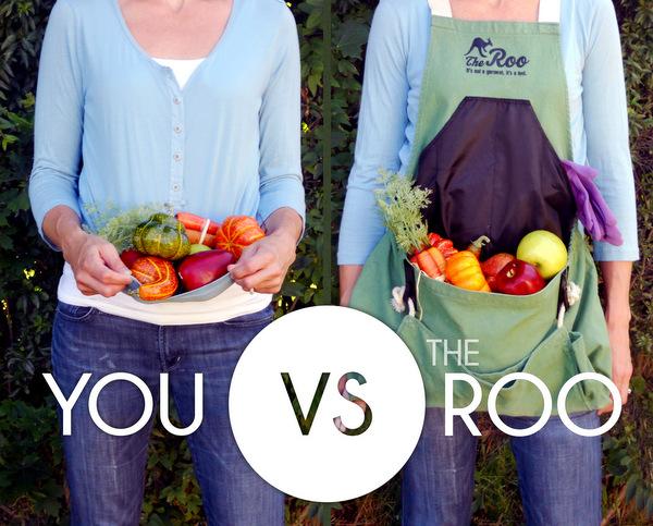 roo gardening apron