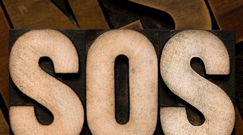Wooden letter block