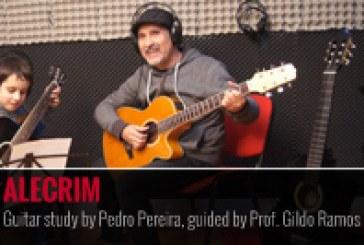 """""""ALECRIM"""" – Estudo de guitarra por Pedro Pereira e orientado pelo Prof. Gildo Ramos"""