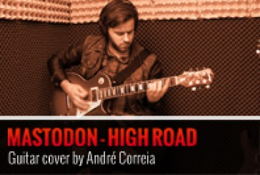 MASTODON – HIGH ROAD – COVER POR ANDRÉ CORREIA