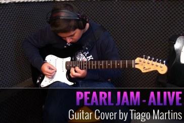 PEARL – JAM – ALIVE – COVER DE GUITARRA POR TIAGO MARTINS