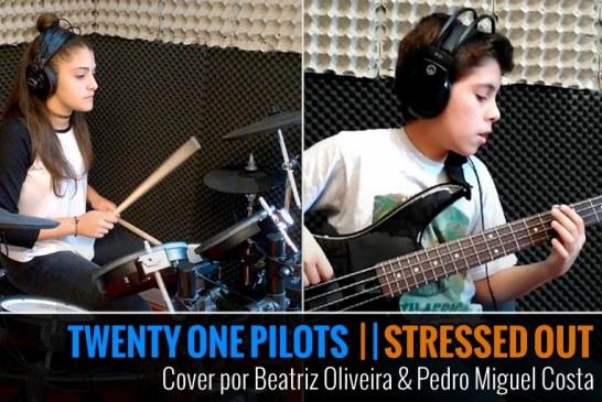 TWENTY ONE PILOTS – STRESSED OUT – Cover por Pedro Costa & Beatriz Oliveira