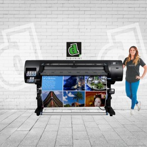 digiprint wide format poster printing HP latex