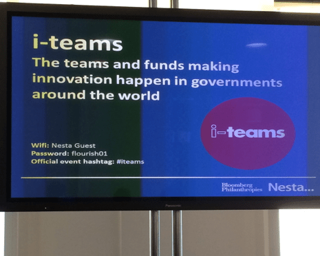 i-Teams launch at Nesta