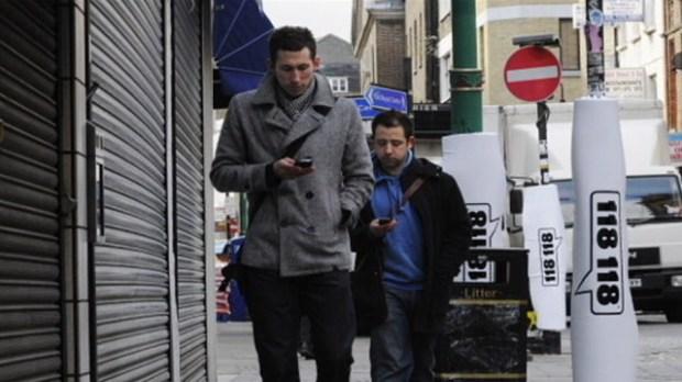 Texting Walking