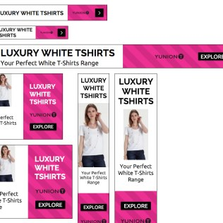 Google Display advertising across partner fashion websites and search ads on Google, YUNIONT
