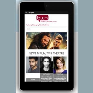 Optimisation for tablets, Cross-platform web design, BWH Agency