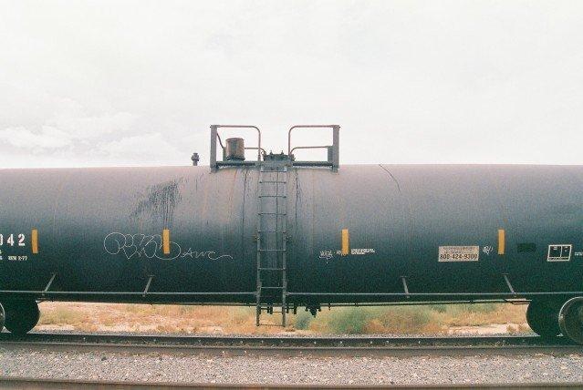 AWC Train Graffiti
