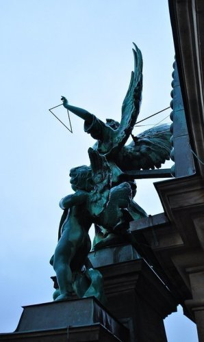 Angel with Triangle