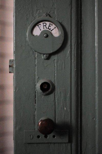 A Lock on the Bath Door