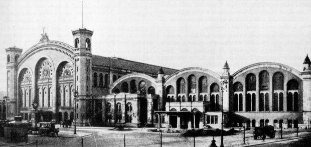 1904 Stettiner Bahnhof Berlin