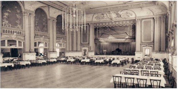 Gesellschaftshaus Grünau Ballroom in 1910