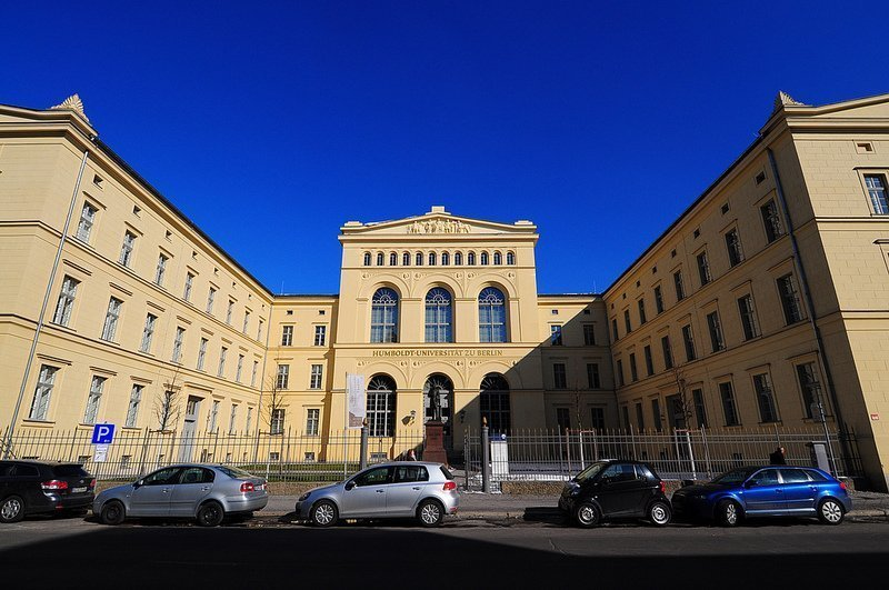 Humboldt University entrance