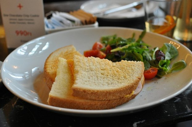 ham cheese sandwich alexandra bookcafe