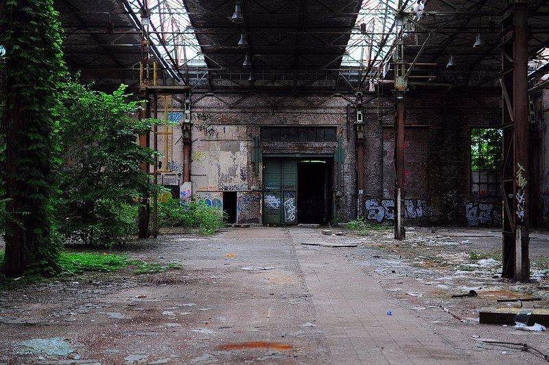 abandoned hall koepenick berlin