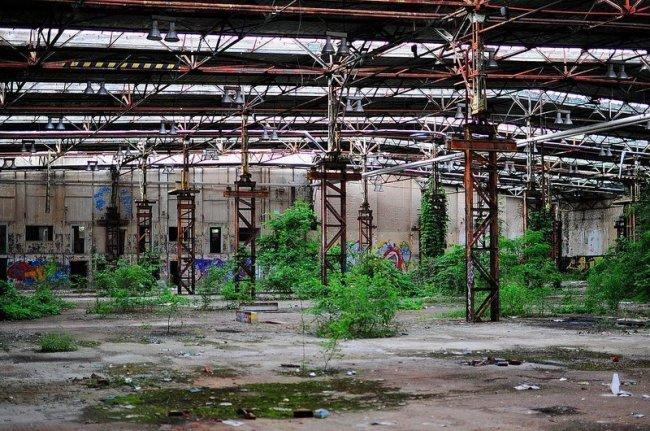 abandoned industrail factory berlin koepenick