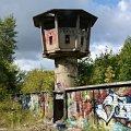 Postenturm Neumagener Strasse Liebermannstrasse abandoned berlin watchtower