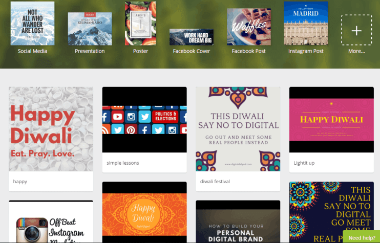 Canva Designs Diwali Digital Defynd