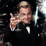Leonardo DiCaprio - Champagner