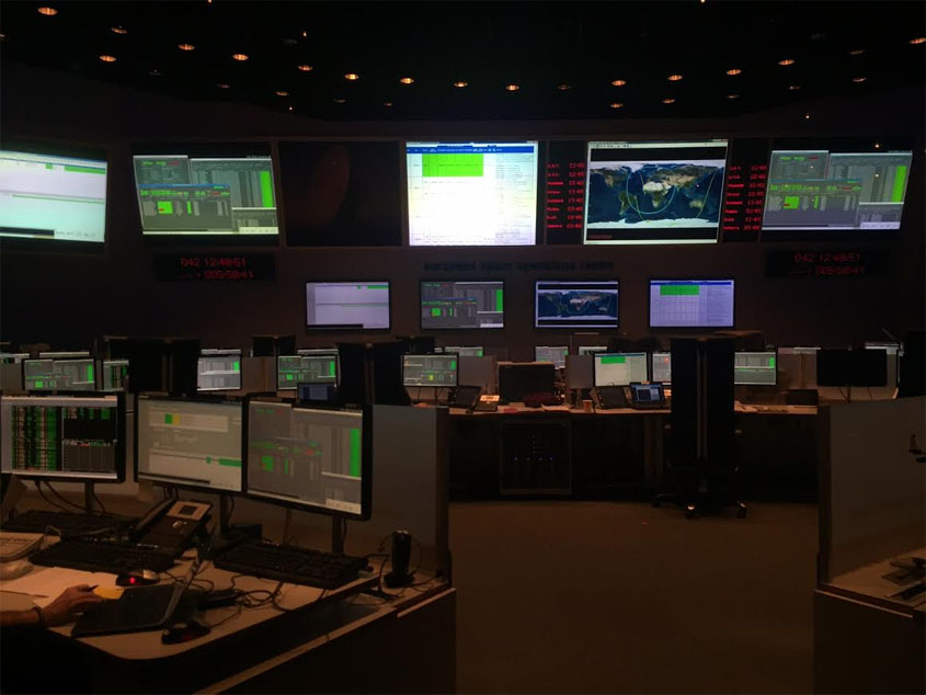 Marsianer ESA Kommandozentrale